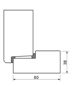 Конструкция двери с притвором