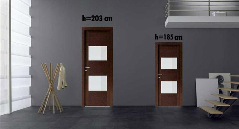 Двери нестандартных размеров в Уфе от фабрики Геона