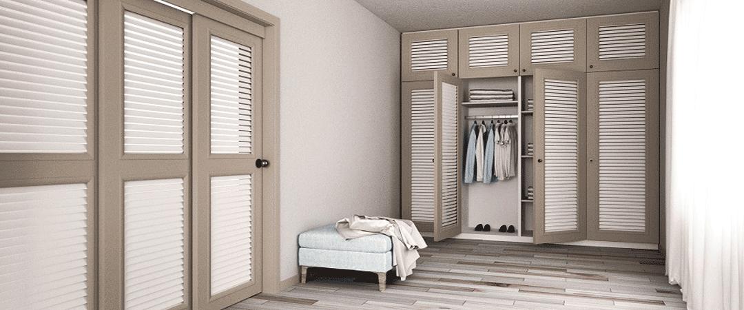 Межкомнатные двери для гардероба