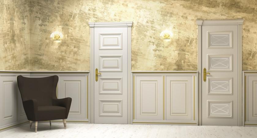 Багетные межкомнатные двери в Уфе
