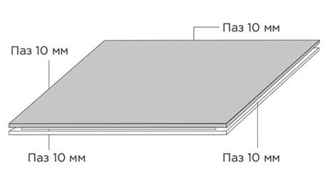 Стеновая панель Gamma