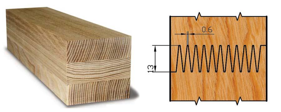 Инженерный массив склейка ламелей