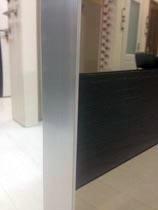 Алюминиевый профиль на двери Lumio Геона
