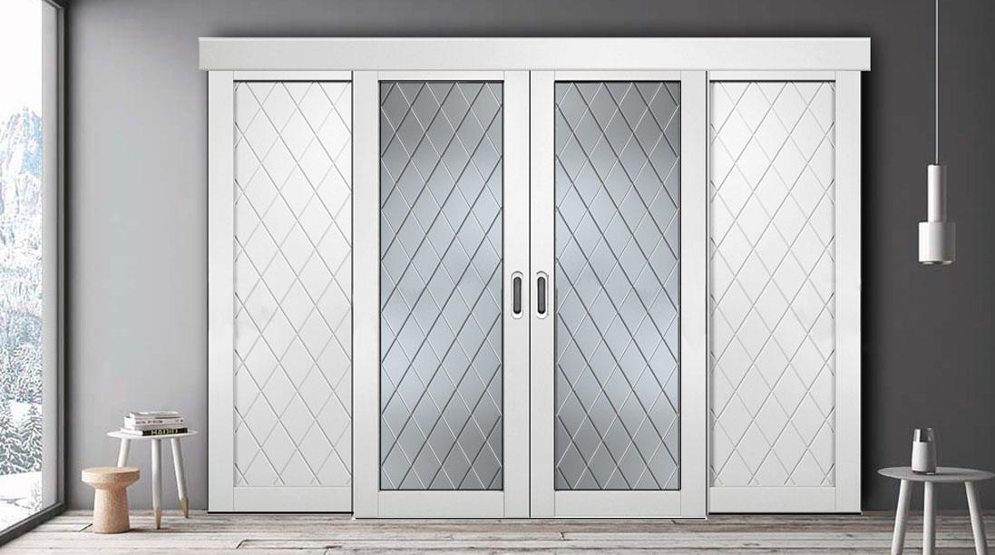 Двери Геона - лучший вариант для межкомнатной раздвижной системы