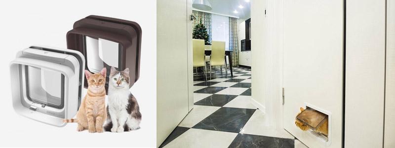 Двери для кошек и домашних животных